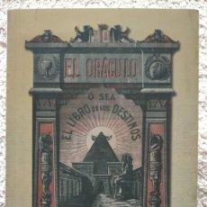Libri: EL ORACULO O SEA EL LIBRO DE LOS DESTINOS CON TABLERO PERFECTO ESTADO 10º EDICIÓN. Lote 251861745