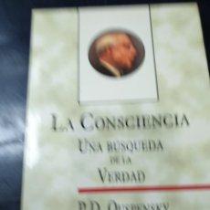 Libros: LA CONSCIENCIA P,D, OUSPENSKY. Lote 270550943