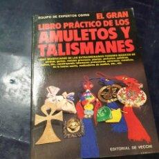 Libros: EL GRAN LIBRO PRACTICO DE LOS AMULETOS Y TALISMANES. Lote 253632600