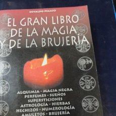 Libros: EL GRAN LIBRO DE LA MAGIA Y DE LA BRUJERIA OSVALDO PEGASO. Lote 253633730
