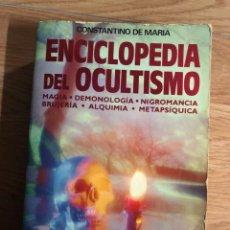 Libri: ENCICLOPEDIA DEL OCULTISMO MAGIA DEMONOLOGÍA NIGROMANCIA BRUJERÍA ALQUIMIA METAPSÍQUICA. Lote 253824740