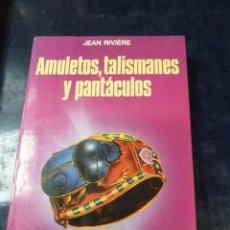 Libros: AMULETOS TALIMANES Y PANTACULOS. Lote 254250235
