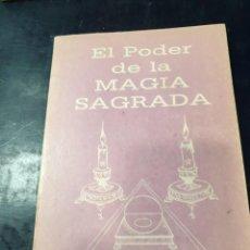 Libros: EL PODER DE LA MAGIA SAGRADA 2. Lote 254251775