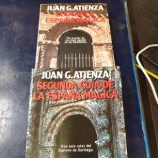 Libros: GUIA DE LA ESPAÑA MÁGICA 1 Y 2 JUAN ATIENZA. Lote 254421895