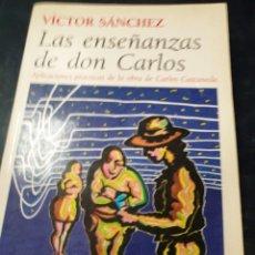 Libros: LAS ENSEÑANZAS DE DON JUAN VICTOR SÁNCHEZ. Lote 254721310