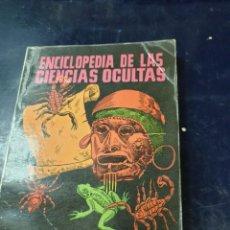 Libros: ENCICLOPEDIA DE LAS CIENCIAS OCULTAS SEBASTIÁN ORTÍZ DE MADARIAGA. Lote 256027335