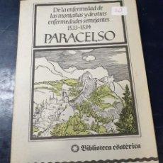 Libros: PARACELSO 1 ª EDICIÓN. Lote 256030480