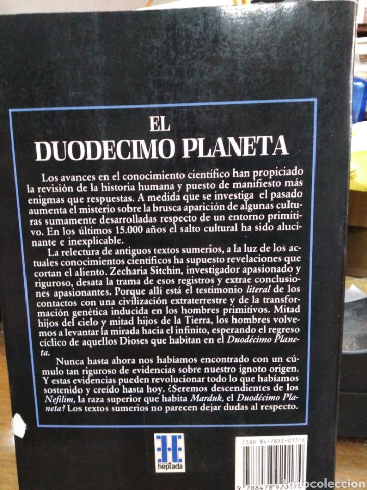 Libros: EL DUODÉCIMO PLANETA-ZECHARIAH SITCHIN-EDITA HEPTADA 1990 - Foto 3 - 257399525