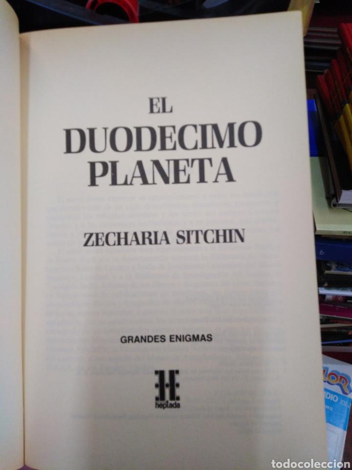 Libros: EL DUODÉCIMO PLANETA-ZECHARIAH SITCHIN-EDITA HEPTADA 1990 - Foto 4 - 257399525