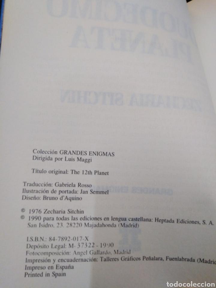 Libros: EL DUODÉCIMO PLANETA-ZECHARIAH SITCHIN-EDITA HEPTADA 1990 - Foto 5 - 257399525