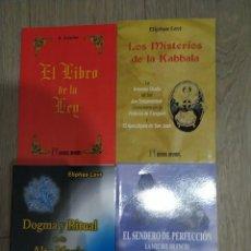 Libros: PACK 4 LIBROS ESOTERISMO Y TEOSOFÍA. Lote 261646690