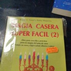 Libros: MAGIA CASERA SUPER FÁCIL 2 TOMOS RAMÓN PLANA. Lote 261824665