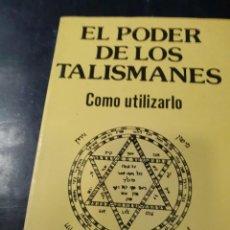 Libros: EL PODER DE LOS TALISMANES Y COMO UTILIZARLO DR, KLAUS BERGMAN. Lote 261825795