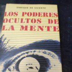 Libros: LOS PODERES OCULTOS DE LA MENTE ENRIQUE DE VICENTE. Lote 261826635