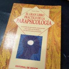 Libros: EL GRAN LIBRO PRACTICO DE LA PARAPSICOLOGIA. Lote 261833495