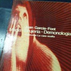Libros: MAGIA BRUJERIA-DEMOLOGIA J.GARIA FONT FILOSOFIA SECRETA J, PÉREZ DE MOYA 2 TOMOS. Lote 261839340
