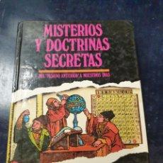 Libros: MISTERIOS Y DOCTRINAS SECRETAS DEL PASADO ANTERIOR A NUESTROS DIAS BRUNO NARDINI. Lote 262375140