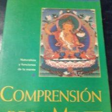 Libros: COMPRENSIÓN DE LA MENTE GUESHE KELSANG. Lote 262440740