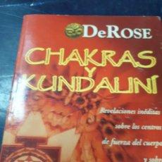 Libros: CHAKRAS Y KUNDALINI DE ROSE. Lote 265538774