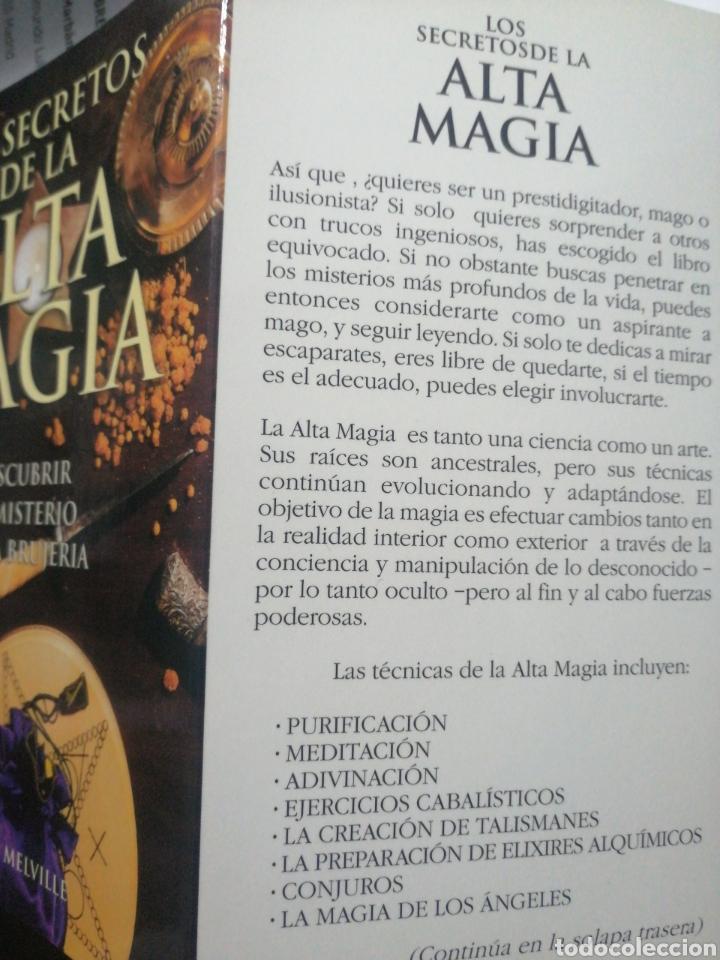 Libros: LOS ECRETOS DE LA ALTA MAGIA. DESCUBRIR EL MISTERIO DE LA BRUJERÍA. Melville, Francis - Foto 3 - 274385933