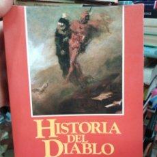 Libros: HISTORIA DEL DIABLO-LAS FORMAS,LAS VICISITUDES DE SATANAS-ALFONSO M.DI NOLA-EDITA EDAF 1992. Lote 286491493