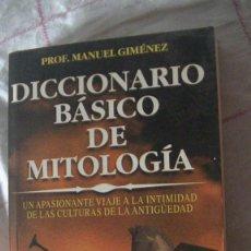 Libros: DICCIONARIO BÁSICO DE MITOLOGÍA. GIMÉNEZ SAURINA, MANUEL. EDICIONES 29., 2002. Lote 288079053