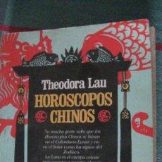 Libros: HORÓSCOPOS CHINOS LAU, THEODORA. JUAN GRANICA., 1984. Lote 289324773