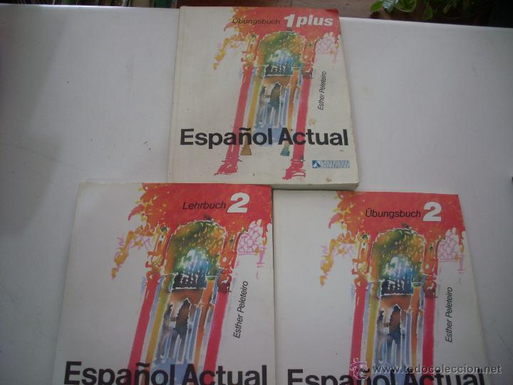 ESPAÑOL ACTUAL ESTHER PELETEIRO RUEDA 1PLUS Y 2 (Libros Nuevos - Idiomas - Español para extranjeros)