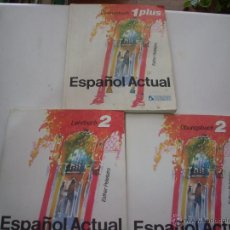 Libros: ESPAÑOL ACTUAL ESTHER PELETEIRO RUEDA 1PLUS Y 2 . Lote 50123848