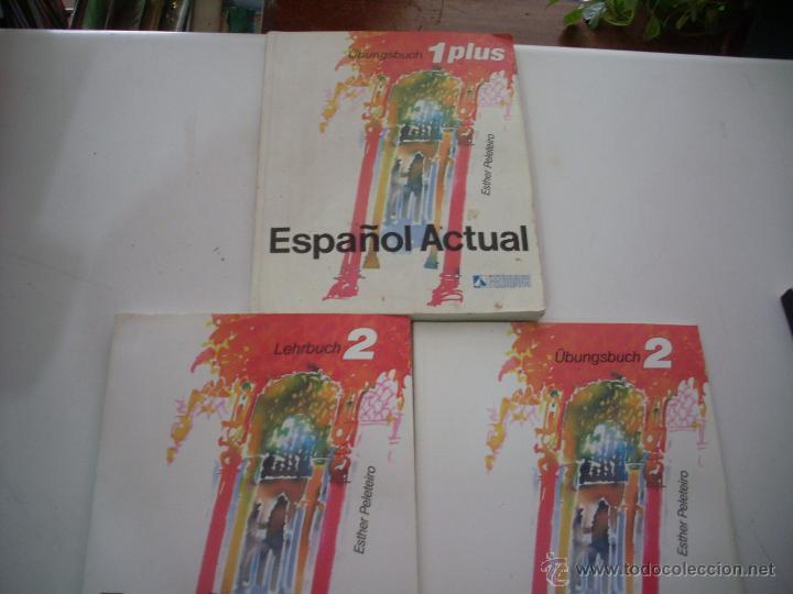 Libros: ESPAÑOL ACTUAL ESTHER PELETEIRO RUEDA 1PLUS Y 2 - Foto 5 - 50123848