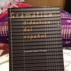 Libros: GRAMÁTICA DIDÁCTICA DEL ESPAÑOL. Lote 134450813