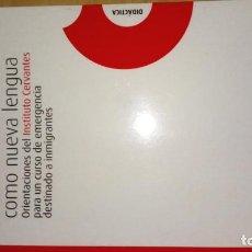 Libros: ESPAÑOL COMO NUEVA LENGUA. Lote 189675960