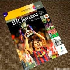 Libros: EL FC BARCELONA 1899-2009, EL BARÇA DE LAS 6 COPAS (LIBRO + CD) - SGEL, 2010. Lote 203903037