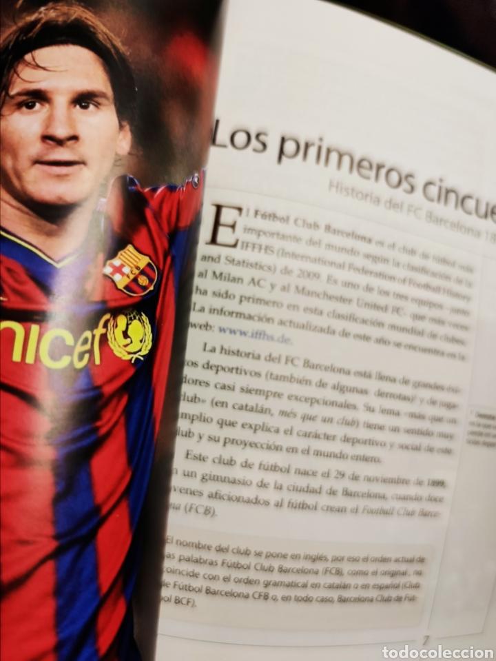 Libros: El FC Barcelona 1899-2009, el Barça de las 6 copas (libro + CD) - SGEL, 2010 - Foto 4 - 203903037