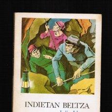 Libros: INDIETAN BELTZA - JULIO VERNE - EN EUSKERA. Lote 39820523