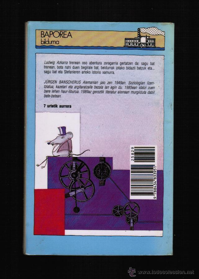 Libros: TRENEKO SAGUA - JURGEN BANSCHERUS - EN EUSKERA - Foto 2 - 39820903