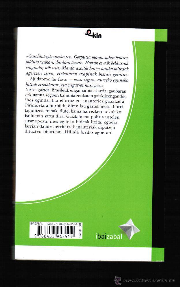 Libros: HERIOTZA ZURIZ JANTZITA - MIGEL ANJEL MINTEGI LARRAZA - EN EUSKERA - Foto 2 - 39822142