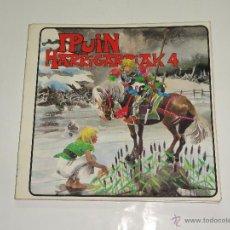 Libros: IPUIN HARRIGARRIAK 4 - ELKAR 1983 - EN EUSKERA. Lote 59746144