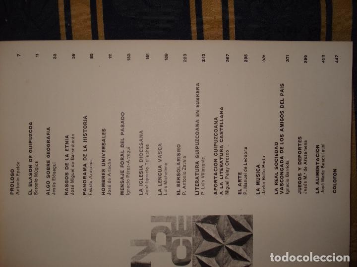Libros: LIBRO ANTIGUO DE PAÍS VASCO (Guipuzcoa) - Foto 3 - 77699017