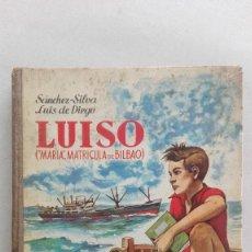 Libros: LUISO - MARIA MATRICULA DE BILBAO. Lote 87864152