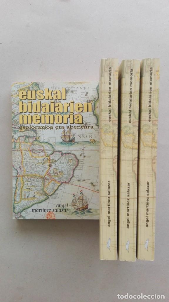 EUSKAL BIDAIARIEN MEMORIA (Libros Nuevos - Otras lenguas locales - Euskera)