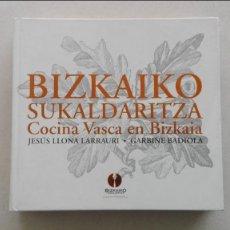Libros: BIZKAIKO SUKALDARITZA. Lote 90843035