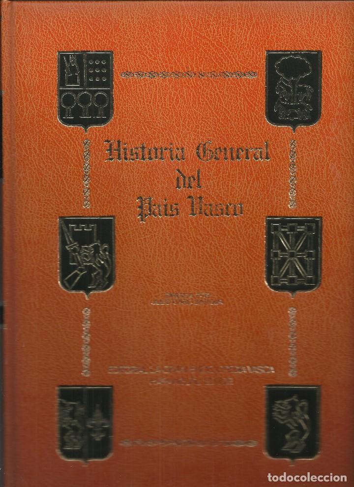 HISTORIA GENERAL DEL PAÍS VASCO (Libros Nuevos - Otras lenguas locales - Euskera)