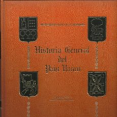 Libros: HISTORIA GENERAL DEL PAÍS VASCO. Lote 110928687