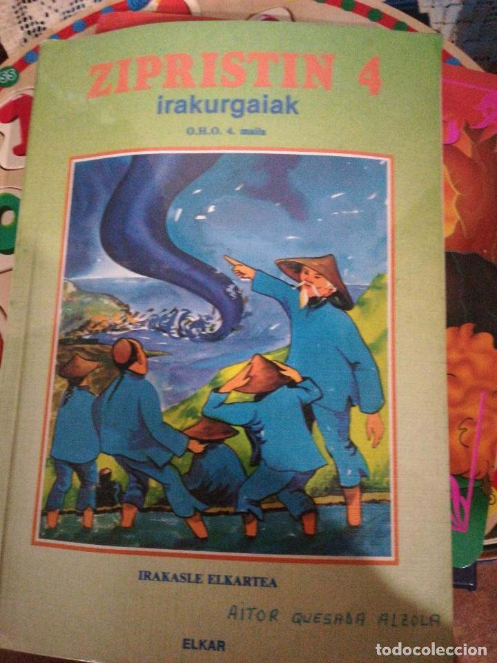 ZIPRISTIN 4, IRASKASLE EUKARTEA LIBRO LECTURA EUSKERA (Libros Nuevos - Otras lenguas locales - Euskera)