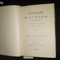 Libros: EUSKERA. LITERATURA VASCA.. Lote 123310871