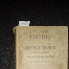 Libros: EUSKERA. LITERATURA VASCA.. Lote 123312059