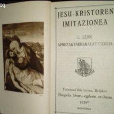 Libros: EUSKERA. LITERATURA VASCA.. Lote 123314403