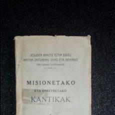 Libros: EUSKERA. LIBROS EN LENGUA VASCA.. Lote 123360223