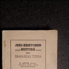 Libros: EUSKERA. LIBROS EN LENGUA VASCA.. Lote 124389855
